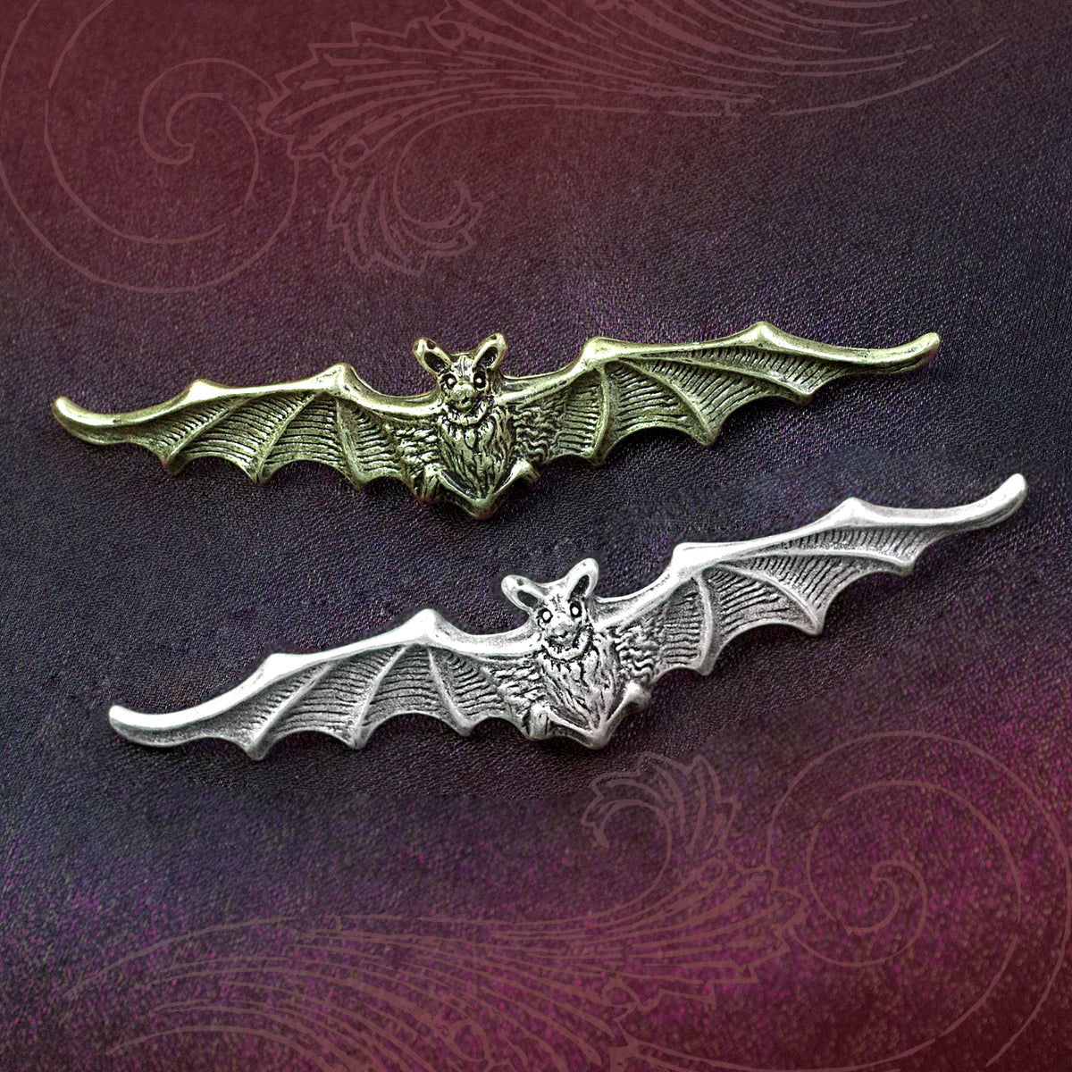 Bat Hair Pin P681 - Sweet Romance Wholesale