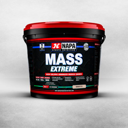 Mass Extreme Protein Powder 5kg (30 servings) - NapaSports