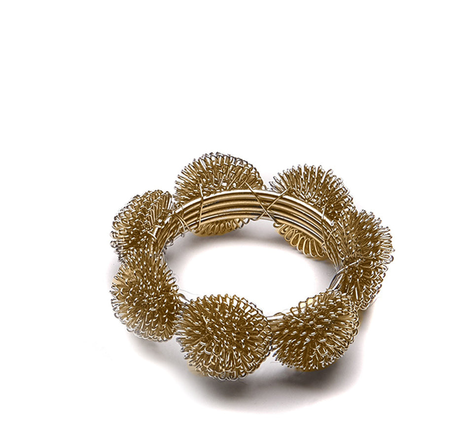 Gold Mesh Napkin Ring