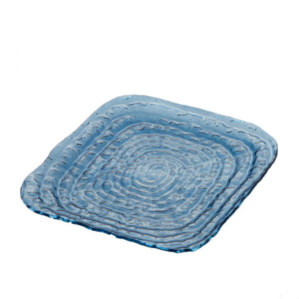 Indigo Square Tray