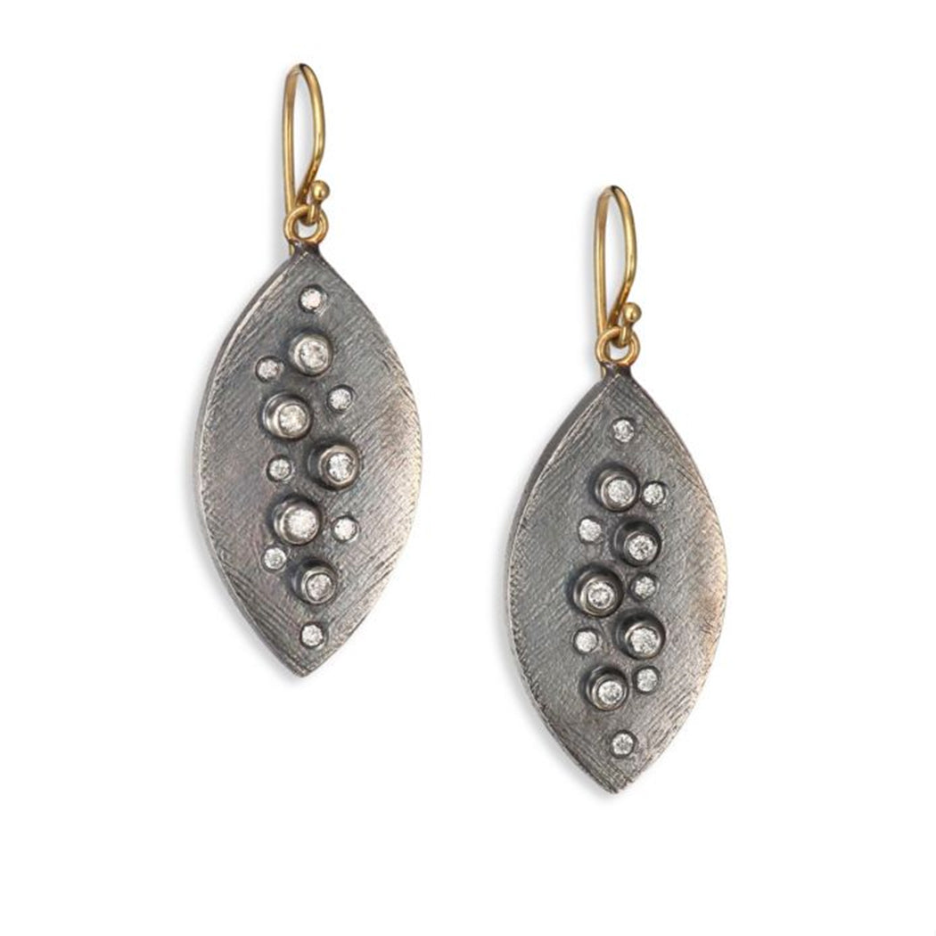 Diamond Droplet Earrings
