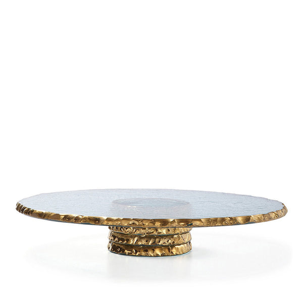 Edgey Cake Stand in Gold