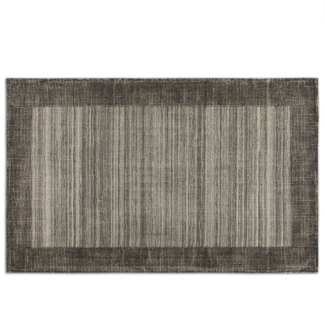 Hand Loomed Rug in Greys 8x10