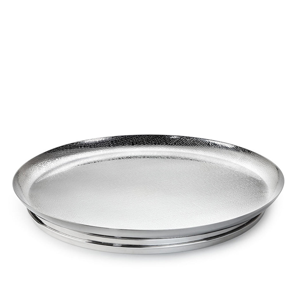 Nordica Footed Round Cocktail Tray