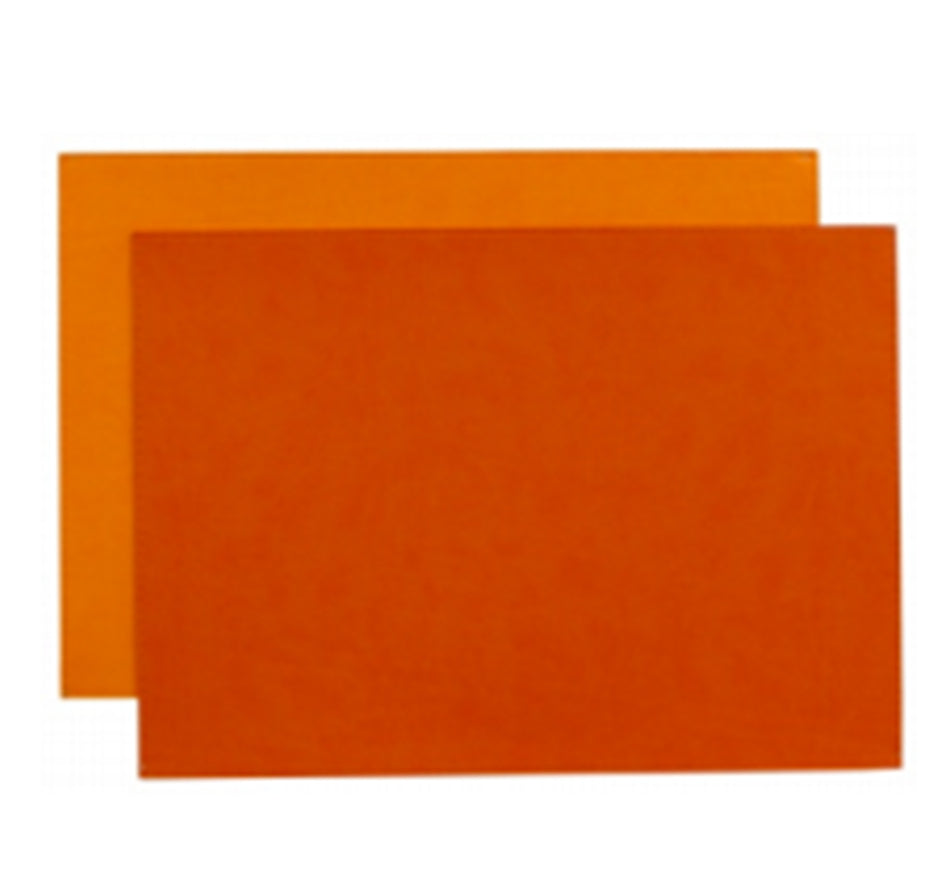 Reversible Gallery Placemat in Coral & Orange (Set of 4)