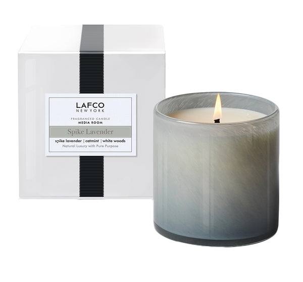 "Spike Lavender ""Media Room"" Candle"