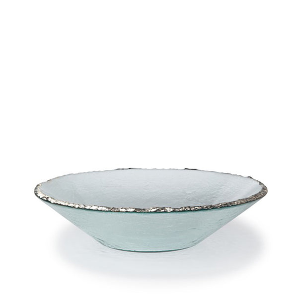 Edgey Round Bowl Platinum