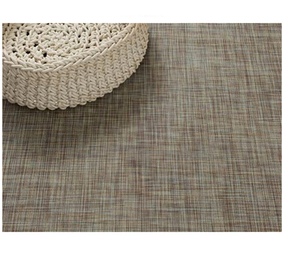Mini Basketweave Floormat in Pistachio 23X36