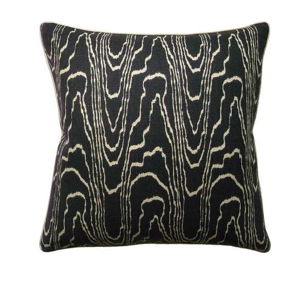 Agate Pillow in Ebony