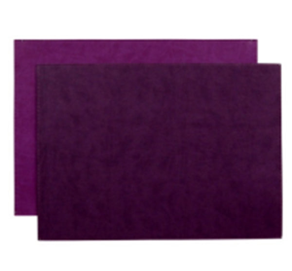 Reversible Gallery Placemat in Plum & Concord (Set of 4)