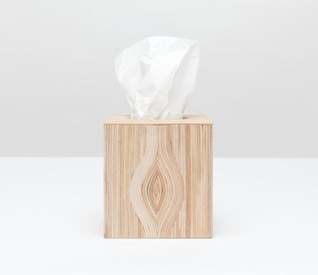 Tifton Tissue Box in Natural