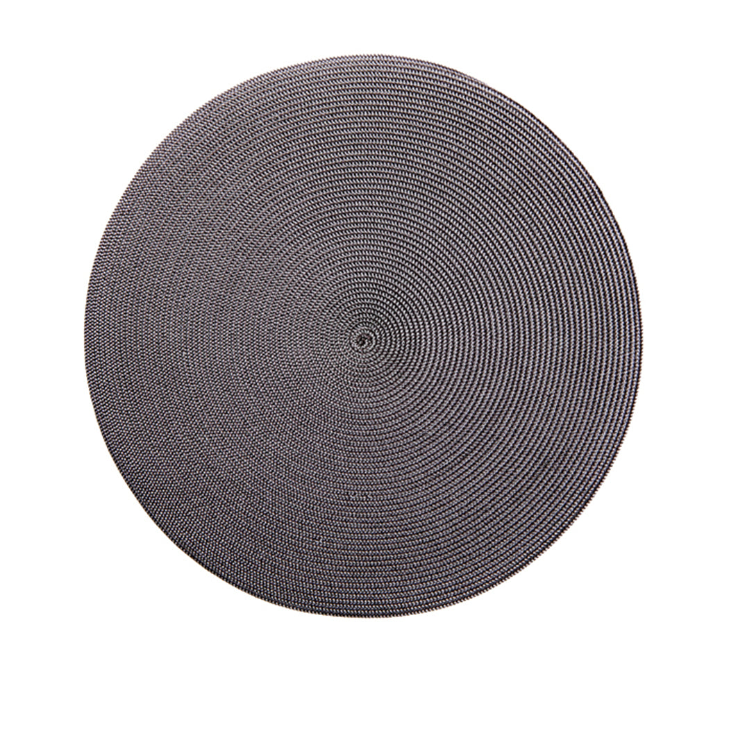 Round Placemat Brown/Grey