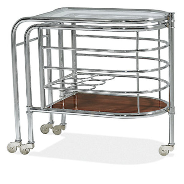 Metropolis Modern Bar Trolley