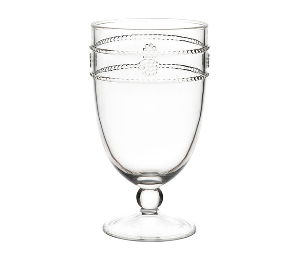 Isabella Clear Acrylic Goblet