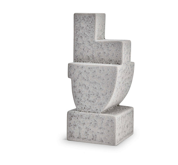 Cubisme Bookend Two in Grey