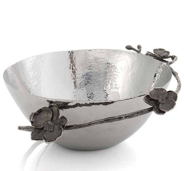 Black Orchid Medium Bowl