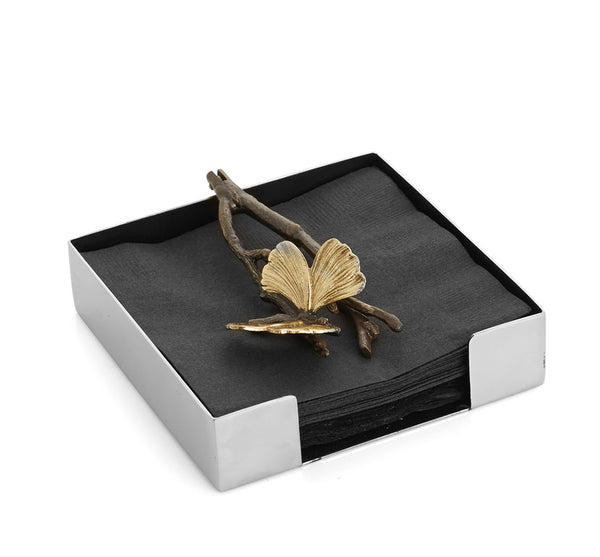 Butterfly Ginko Napkin Holder