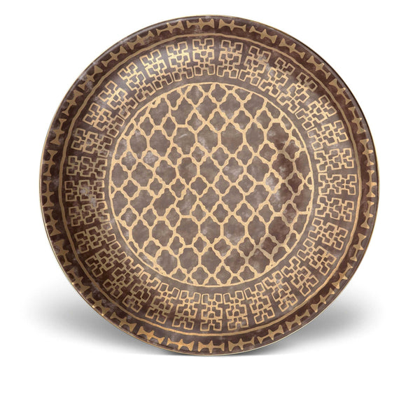 Fortuny Round Platter in Grey