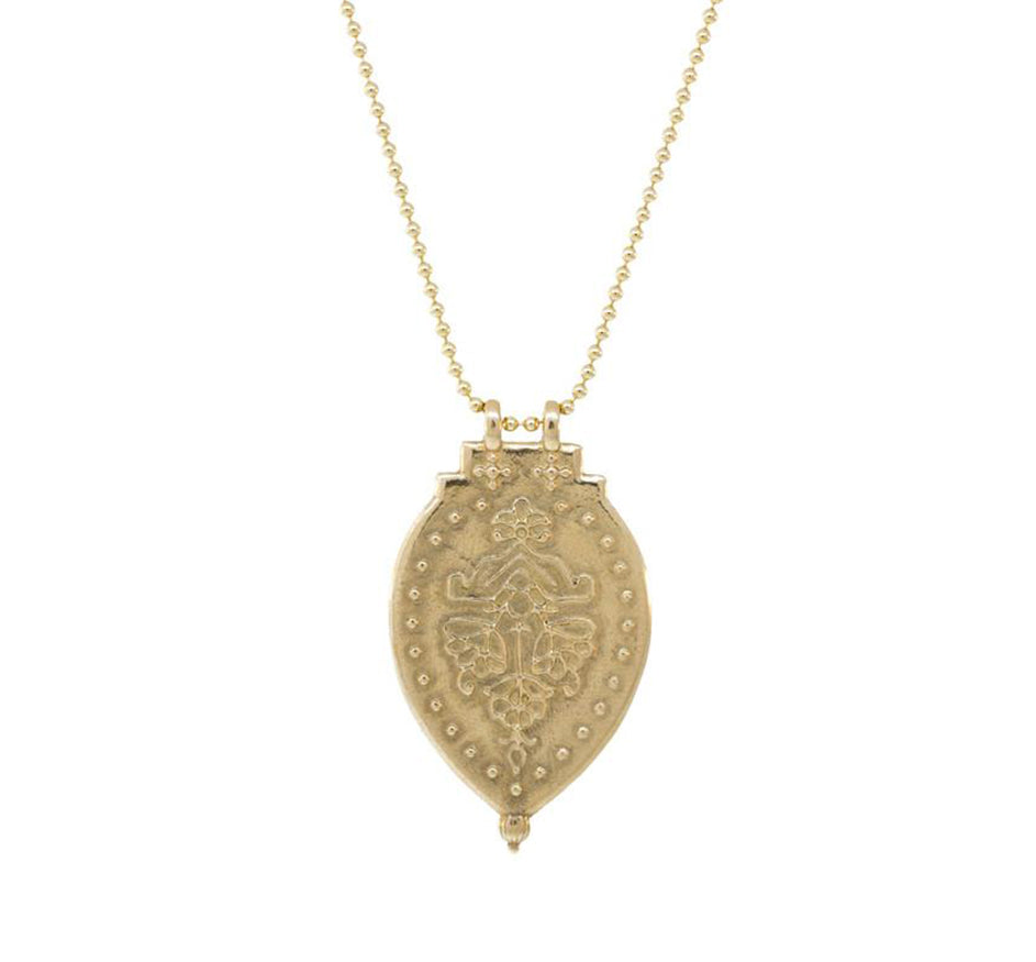 Cast Bronze Pendent Necklace