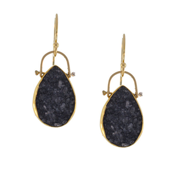 Aspen Earring Black