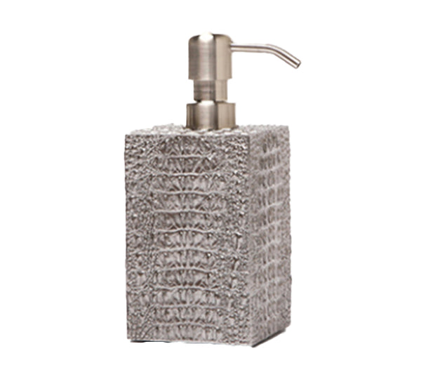 Hawen Soap Pump in Pewter
