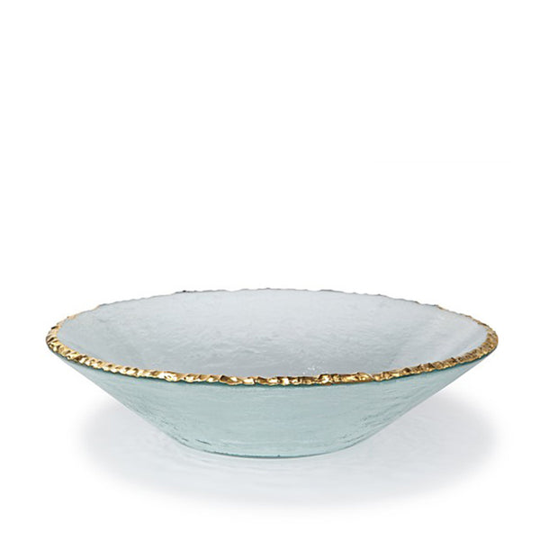 Edgey Round Bowl Gold