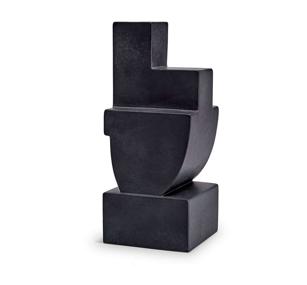Cubisme Bookend Two in Black