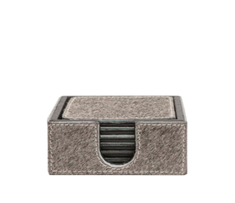 Browmley Coaster Set in Gray