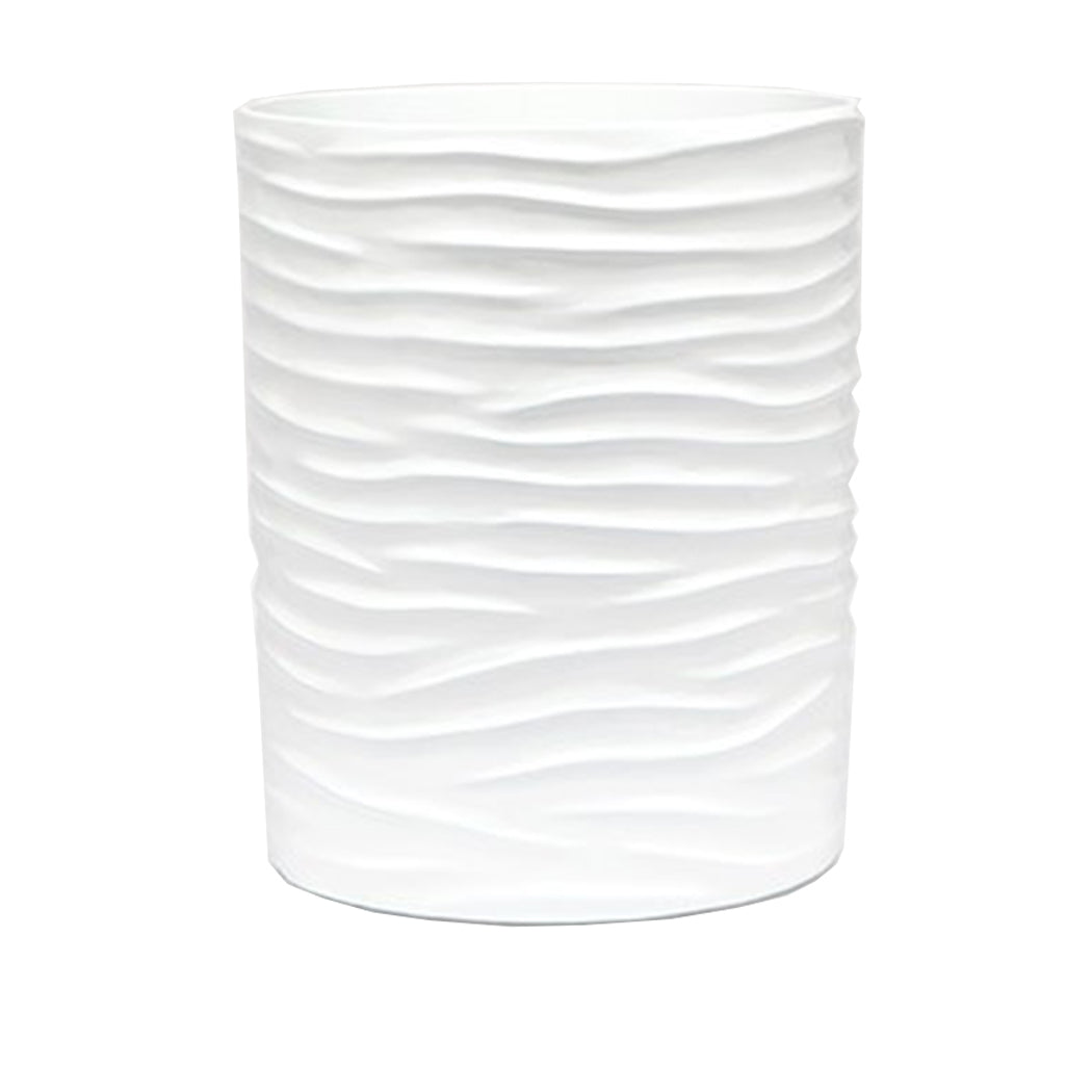 Solin Wastebasket in White
