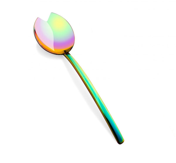 Linea Rainbow Salad Serving Spoon