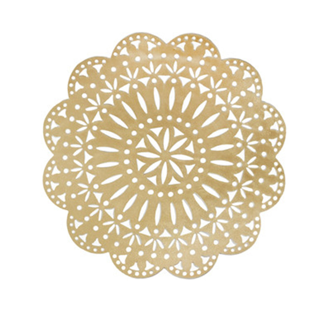 Fete Placemat in Gold