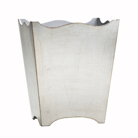 Classico Wastebasket in Silver