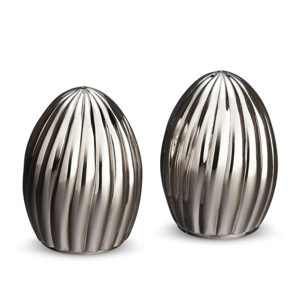 Carrousel Salt & Pepper Shakers in Platinum