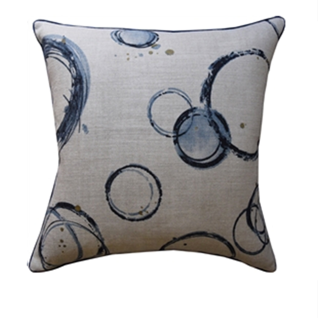Rings of Blue Pillow