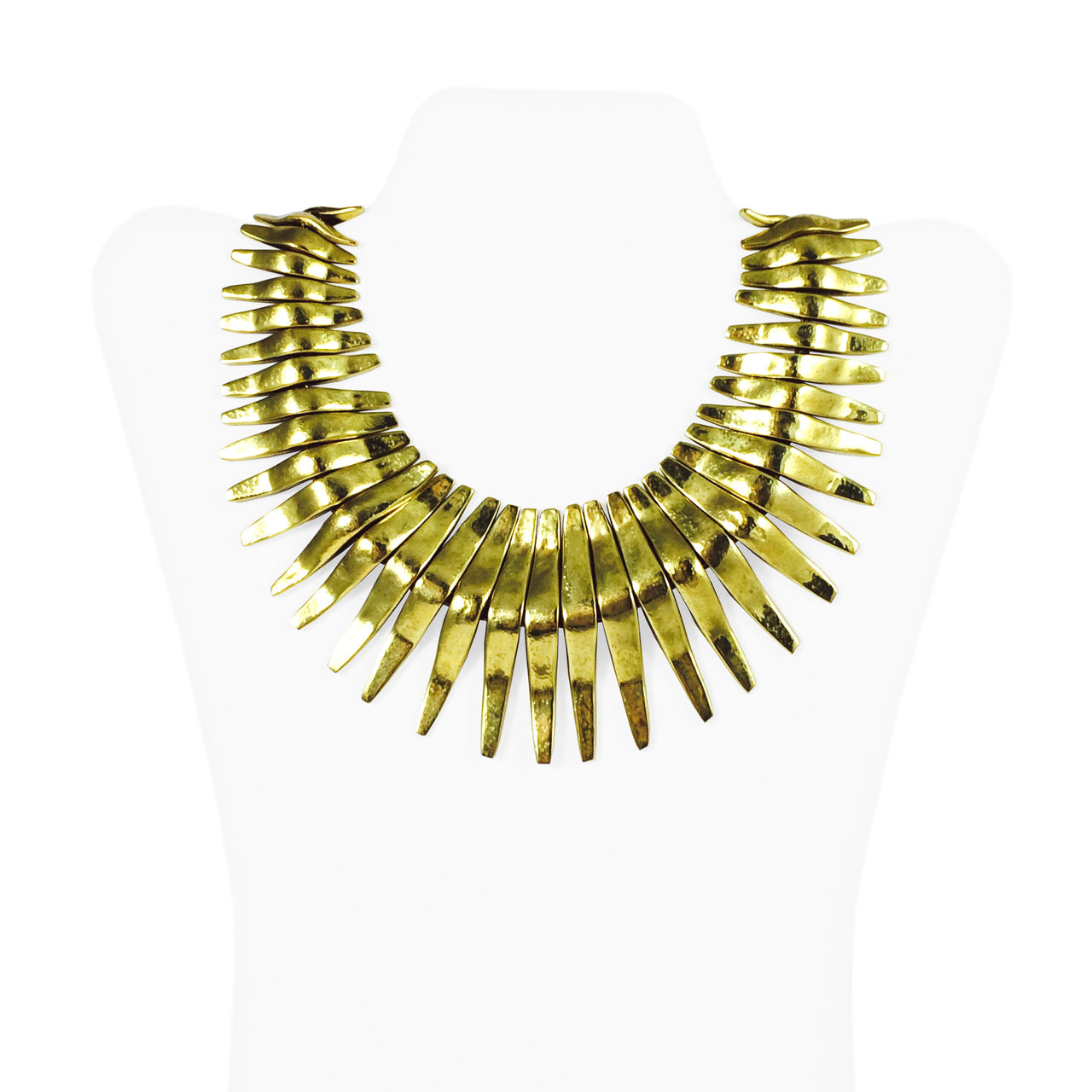 Spiked Waves Necklace