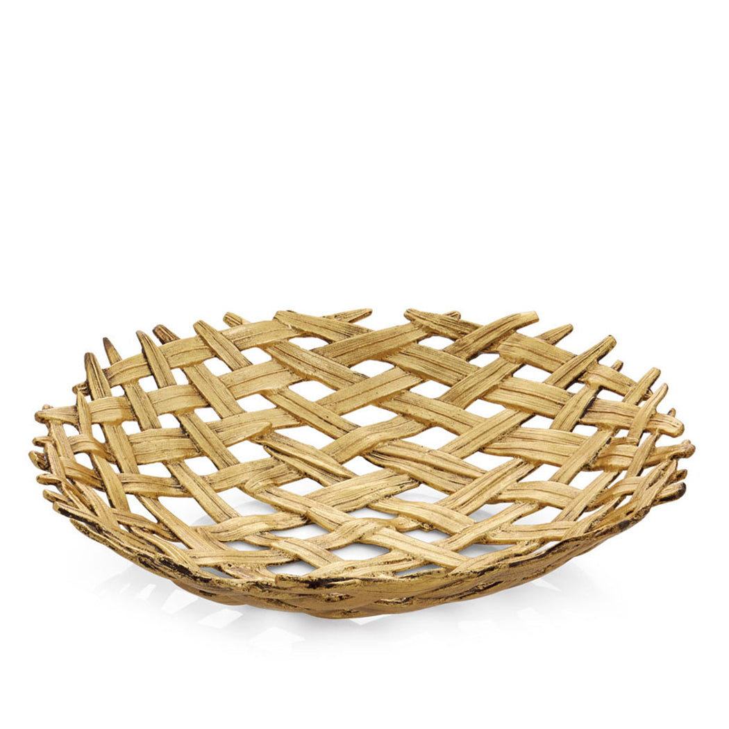 Palm Shallow Bowl