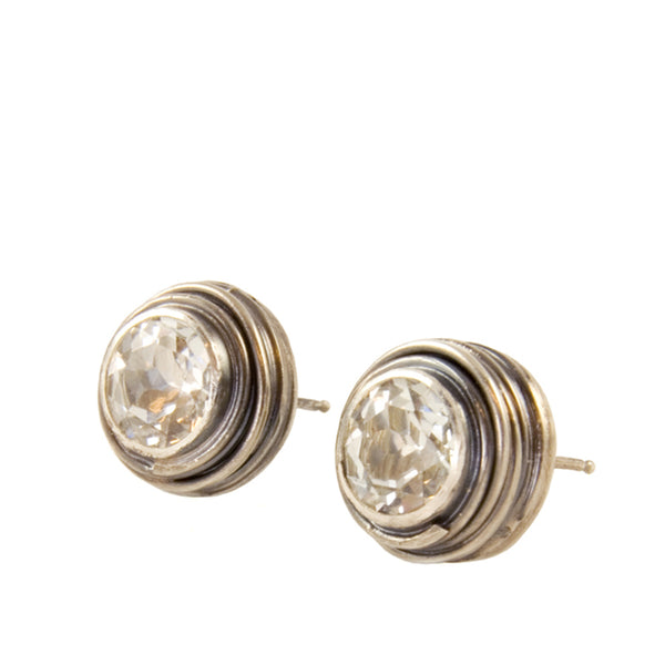 Swirl Stud Earrings