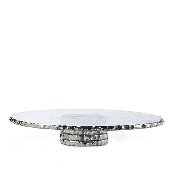 Edgey Cake Stand in Platinum