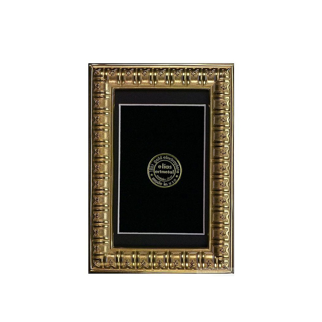Bibliotheque Frame 4X6 In Gold