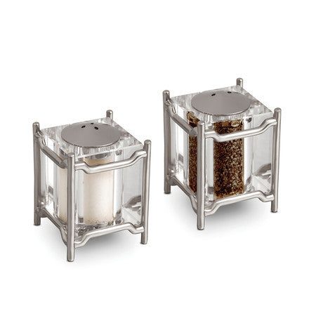 Han Salt & Pepper Set Platinum