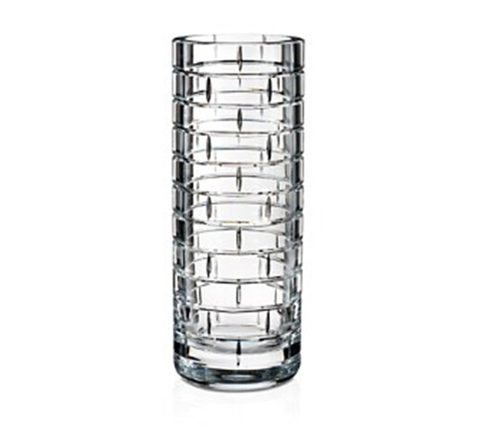Slim Glass Brick Vase