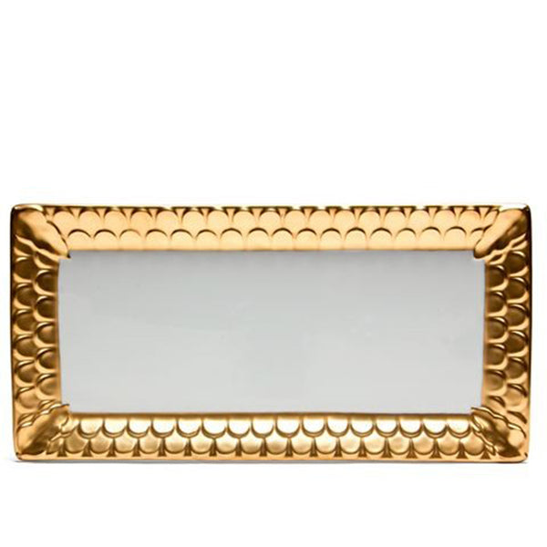 Aegean Gold Rectangle Platter