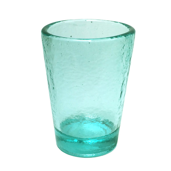 Recycled Glass Aqua Small Tumbler