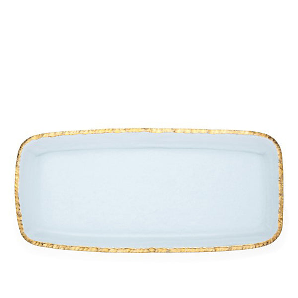 Edgey Rectangle Platter Gold