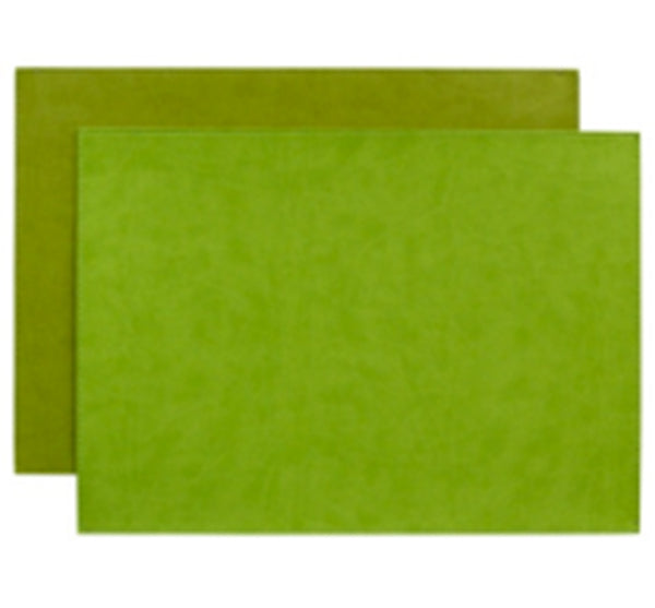 Reversible Gallery Placemat in Lime & Citron (Set of 4)