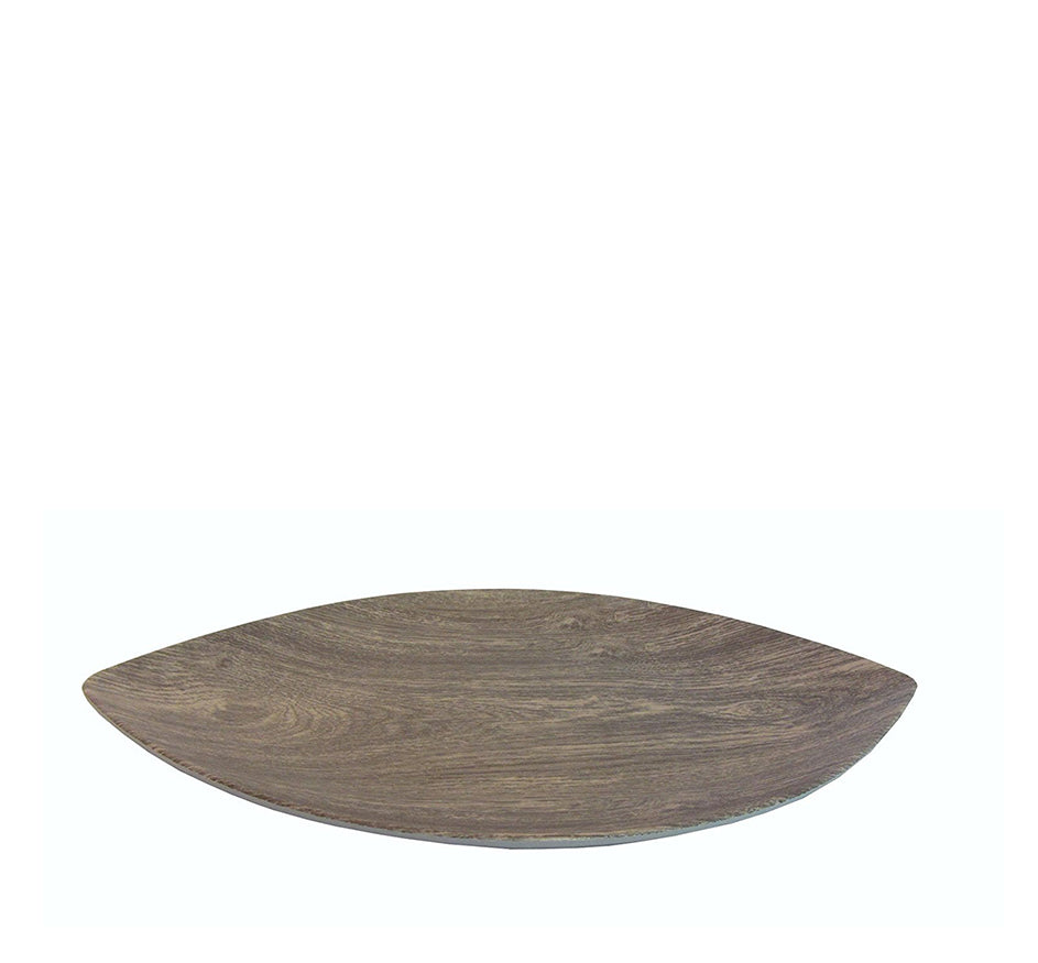 Heartwood Melamine Small Leaf Serving Tray