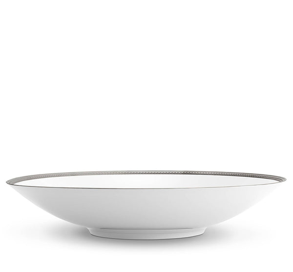 Soie Tressee Large Coupe Bowl In Platinum