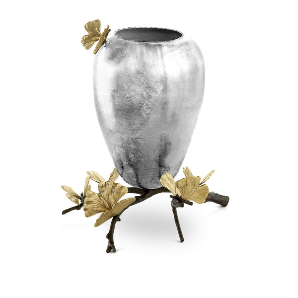 Butterfly Ginkgo Vase Medium