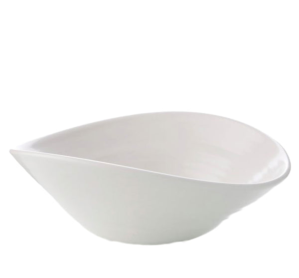 Barre Medium Serving Bowl in Alabaste