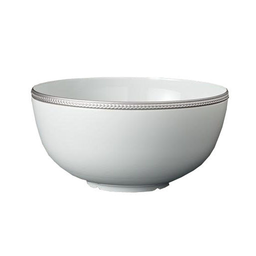 Soie Tressée Serving Bowl In Platinum
